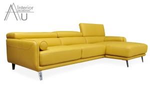 sofa đẹp màu vàng