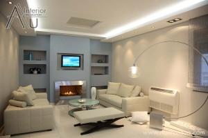 Sofa mini phòng khách chung cư