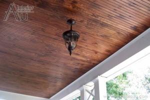 Giá trần gỗ