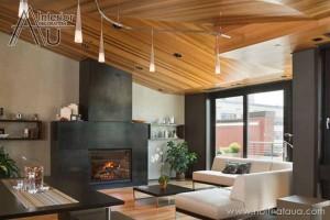 Giá trần gỗ tự nhiên