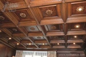 Trần gỗ thạch thất