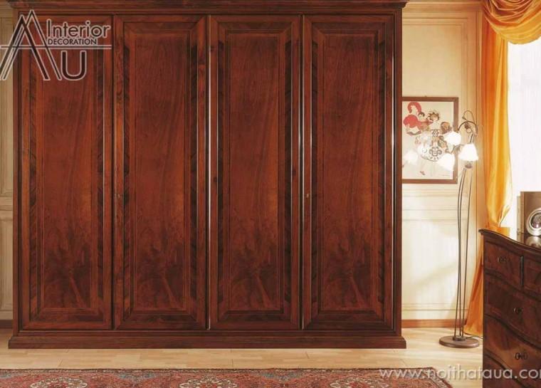 tủ áo gỗ gụ