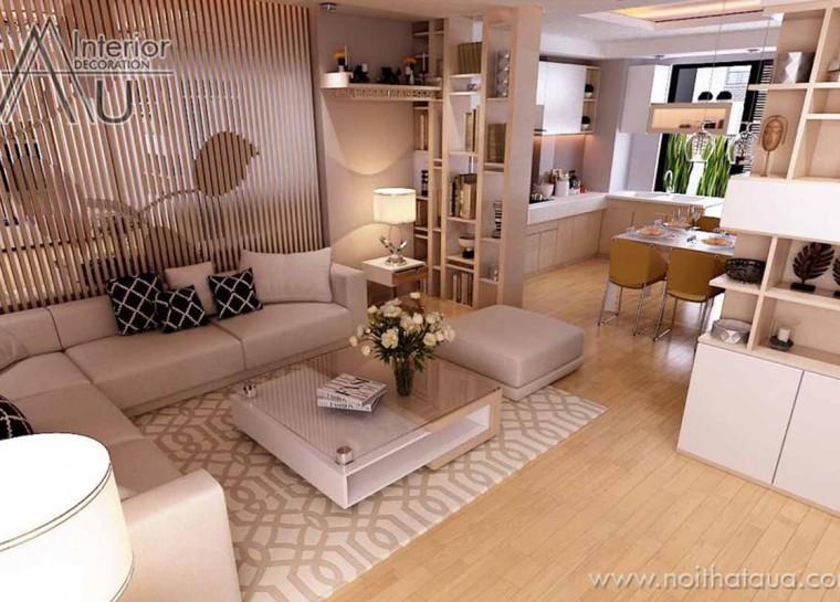 mẫu thiết kế phòng khách đẹp 2016