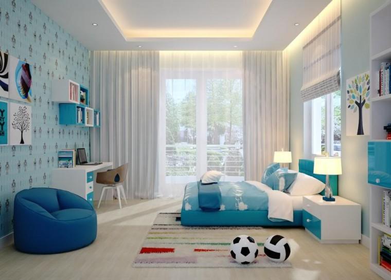 phòng ngủ đẹp cho bé trai
