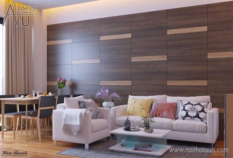 Thiết kế nội thất phòng khách chung cư nhỏ
