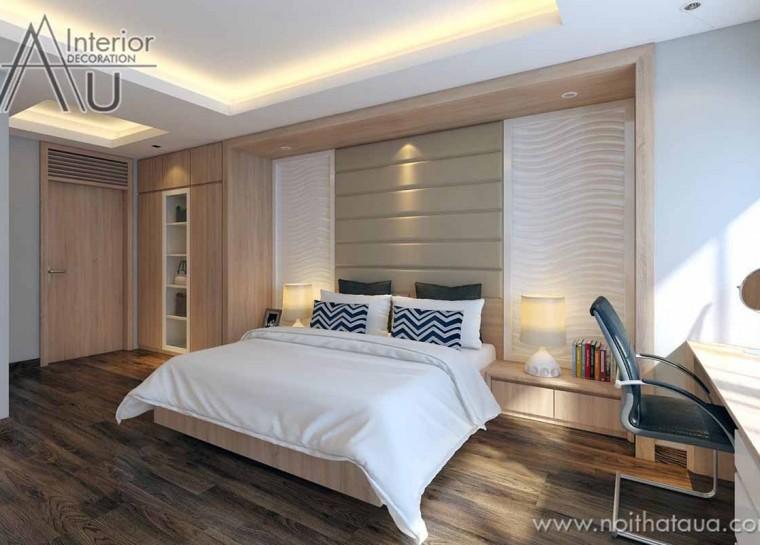 thiết kế nội thất phòng ngủ ngọt ngào