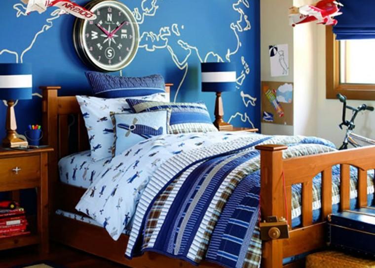 mẫu phòng ngủ đẹp cho bé trai