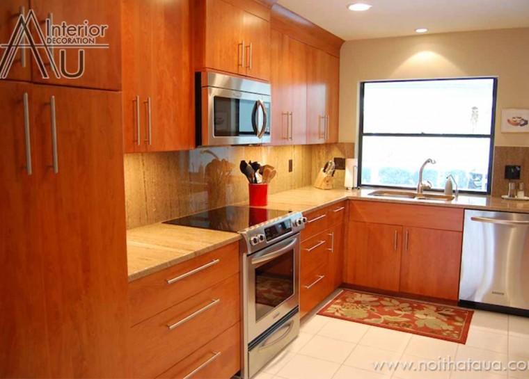 thiết kế tủ bếp