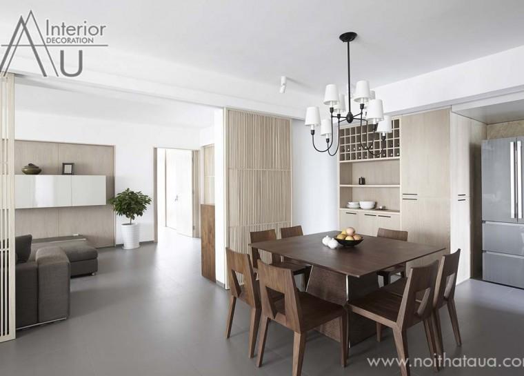 mẫu bàn ăn đẹp cho thiết kế nội thất phòng bếp hiện đại
