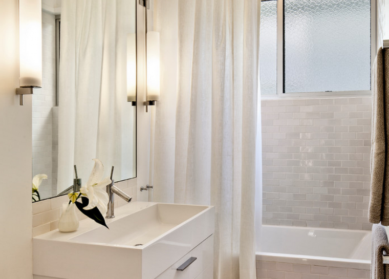 Mẫu nhà tắm nhỏ đẹp cho thiết kế nội thất chung cư hiện đại