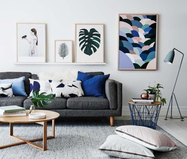 thiết kế phòng khách đẹp cho nhà ống