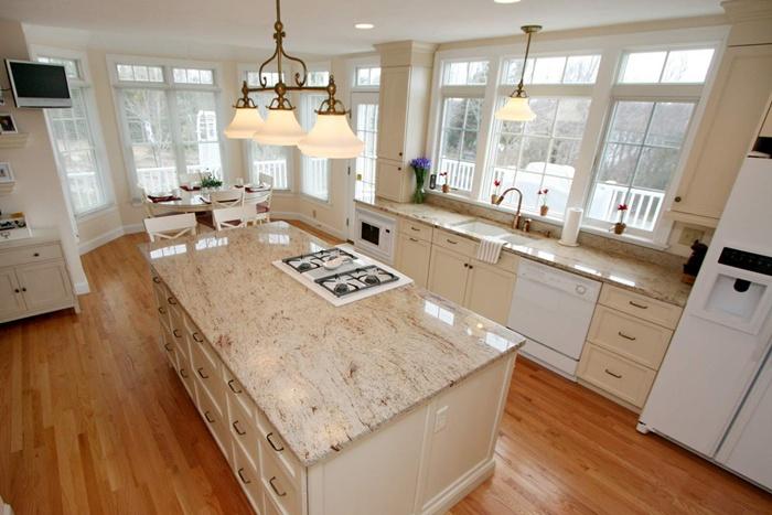 Thiết kế nội thất phòng bếp chung cư hiện đại