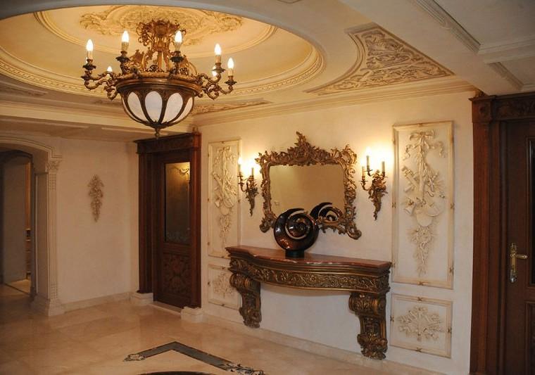 Đặc trưng trong phong cách thiết kế nội thất biệt thự cổ điển