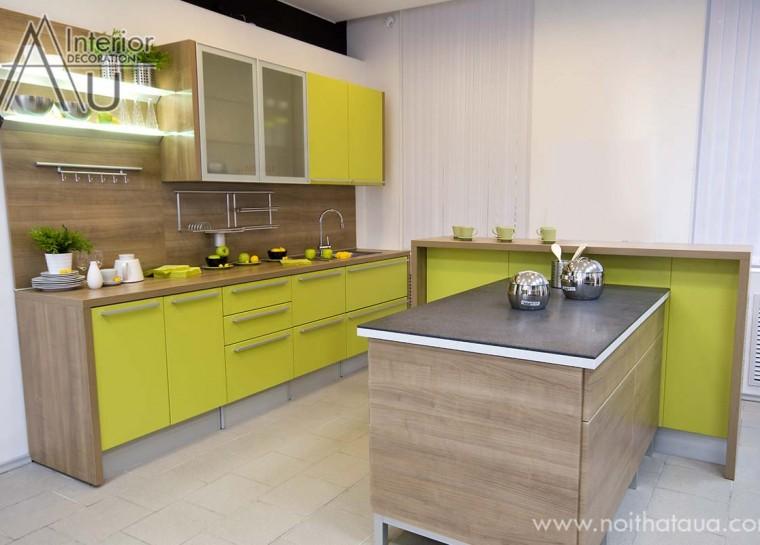 thiết kế phòng bếp chung cư