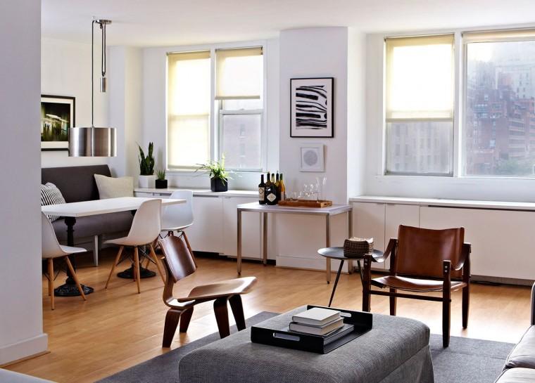 Thiết kế phòng khách đẹp cho nhà chung cư hiện đại