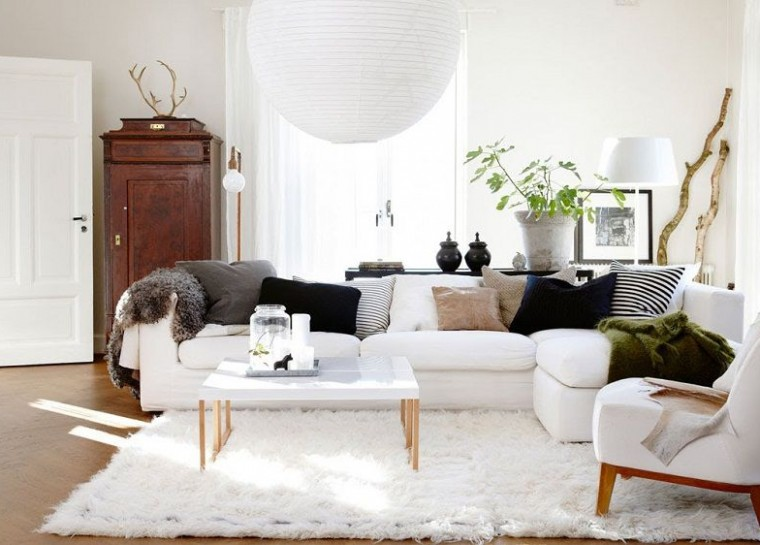 thiết kế phòng khách mở cho căn hộ chung cư