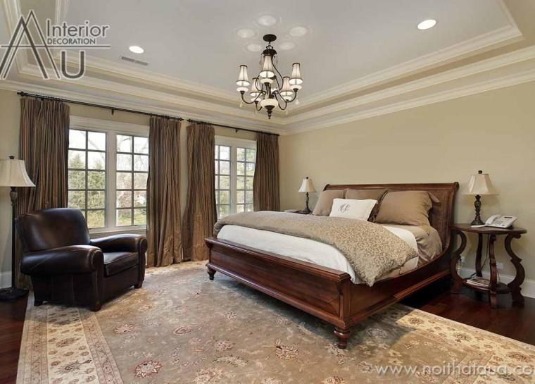 mẫu giường ngủ gỗ đẹp