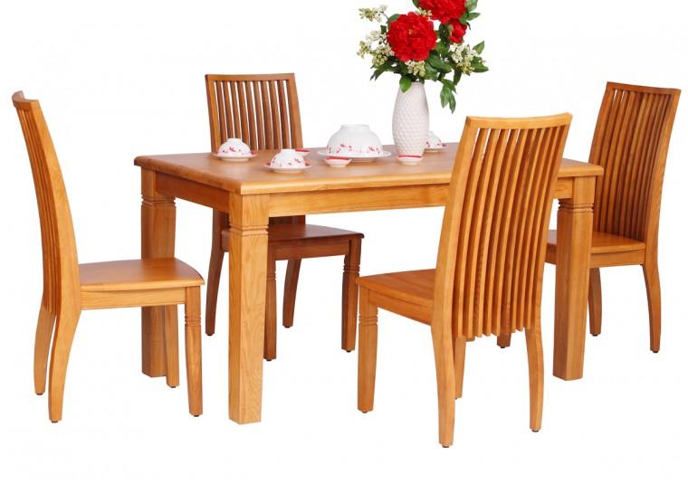 bàn ăn gỗ xoan đào
