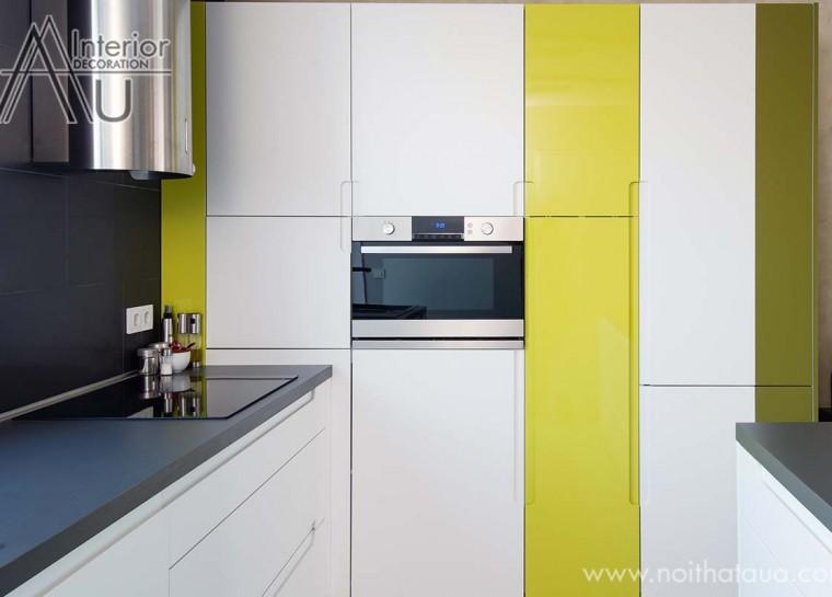 tủ bếp hiện đại cho chung cư cao cấp
