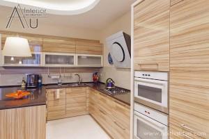 Tủ bếp gỗ an cường