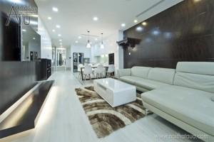 thiết kế phòng khách nhà ống đẹp