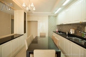 mẫu tủ bếp đẹp cho chung cư